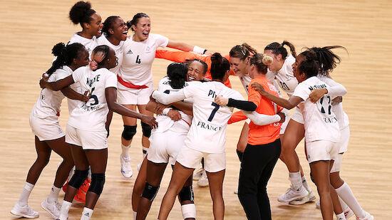 Frankreich holt auch Gold im Frauen-Handball