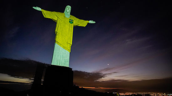 Olympia: Lichtshow in Rio - Skepsis in Japan