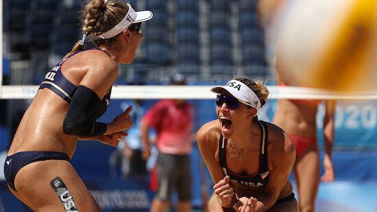 Beachvolleyball-Finale der Damen steht fest