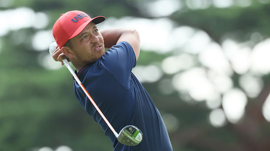 US-Golfer jubelt über Olympia-Gold