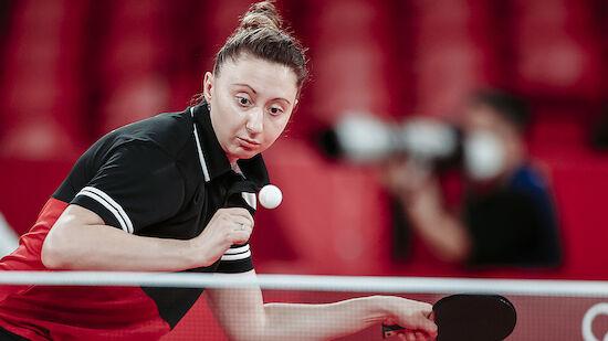 Tischtennis-Team der Frauen ohne Satzgewinn
