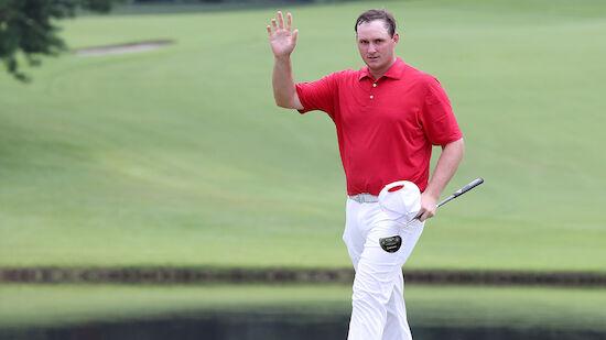 Straka startet mit Traumrunde in Golf-Turnier