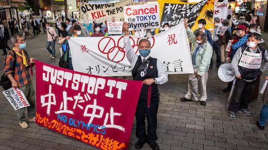 IOC trotzt negativer Tokio-Stimmung