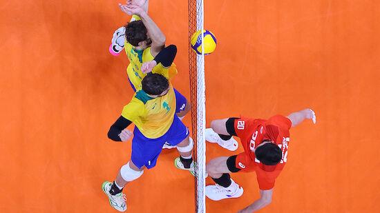 Schock für Volleyball-Land Brasilien
