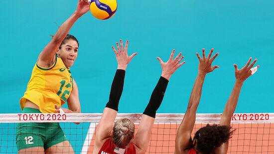 Kein Volleyball-Gold für Brasilien