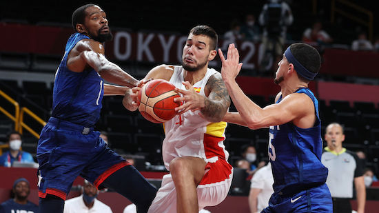 USA nach Sieg vs. Spanien im Basketball-Halbfinale