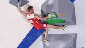 Jakob Schubert klettert ins Finale