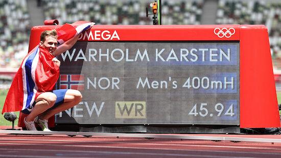 Fabel-Weltrekord über 400m Hürden