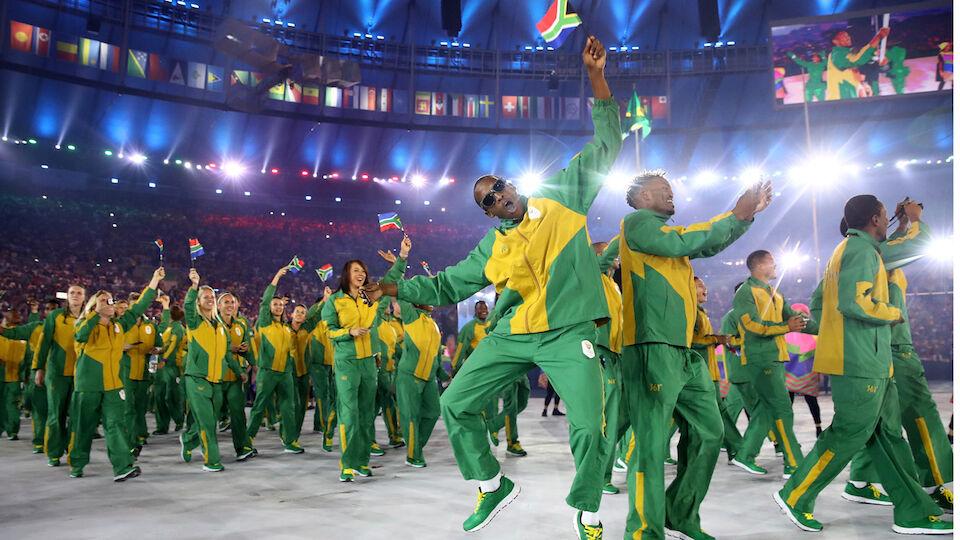 Olympia 2016 - die Eröffnungsfeier in Rio de Janeiro
