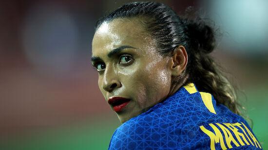 Brasiliens Frauen remisieren gegen Holland
