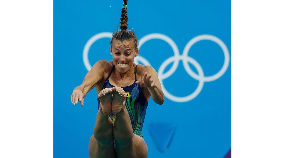 Bilder: Die Turmspringer-Grimassen bei Olympia 2016
