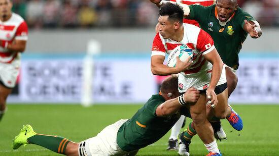 Rugby-WM: Südafrika stoppt Gastgeber Japan