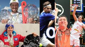Top-5 der Wahl zu Österreichs Sportler des Jahres