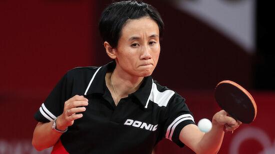 Liu Jia nach spannendem Match in dritter Runde