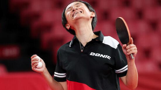 Tischtennis: Liu Jia steht in der 2. Runde