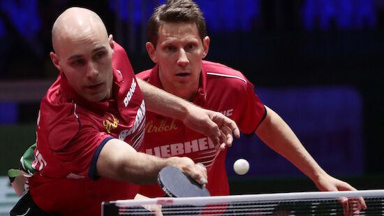 ÖTTV-Doppel im Viertelfinale der Tischtennis-EM