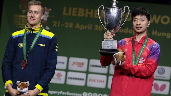 Tischtennis-WM: Schwede verpasst Sensation