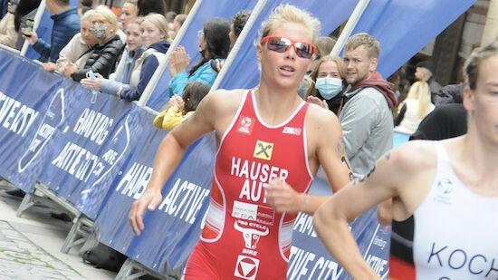 Julia Hauser wird 15. bei Triathlon-EM in Valencia
