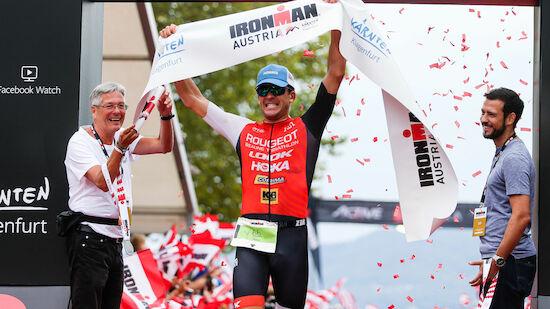 Französischer Sieg im Ironman Klagenfurt