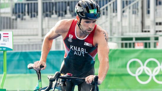 Pech für Luis Knabl im Triathlon