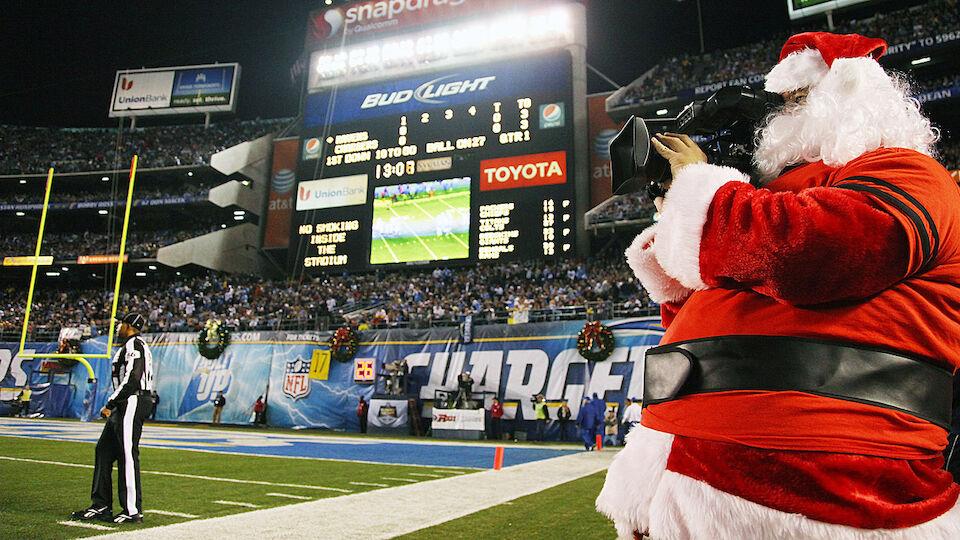 Weihnachtsmaenner Diashow