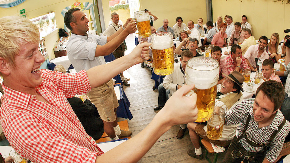 Happy St. Patrick's Day - Bier-Bilder aus der Sportwelt!