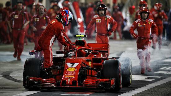 Geldstrafe für Ferrari wegen Boxen-Unfall