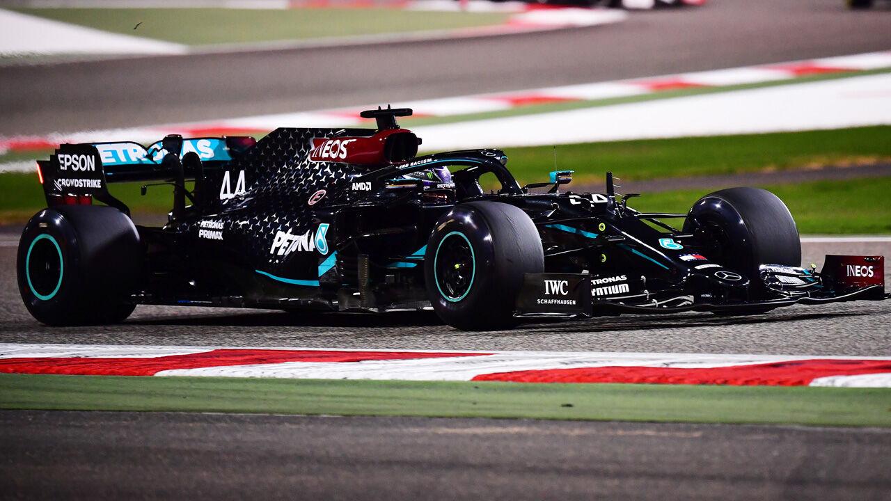 Stand Formel 1