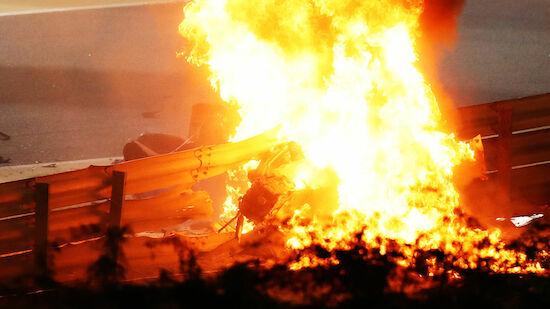 Unfallbericht: So kam es zu Grosjeans Feuerunfall
