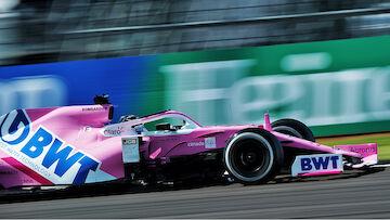 Wegen Mercedes-Kopie: Racing Point bestraft