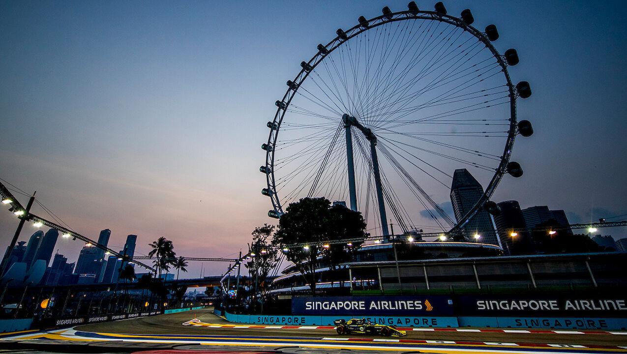 Formel 1 Singapur Startzeit
