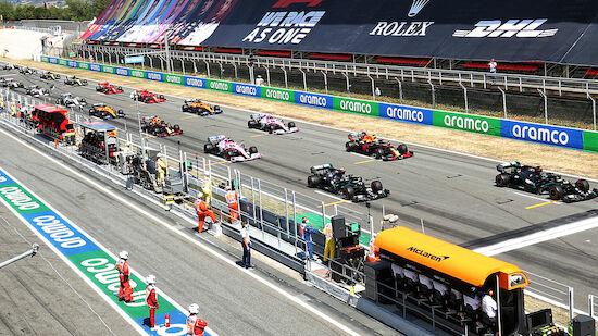 Formel 1: RTL zeigt 2021 vier Rennen