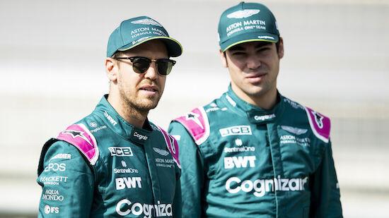 Aston Martin bestätigt Vettel und Stroll für 2022