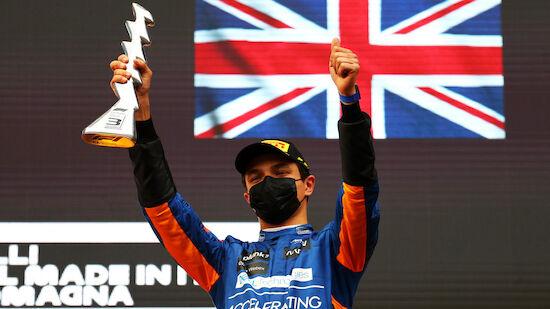 McLaren verlängert Vertrag mit Lando Norris
