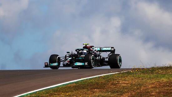 GP von Portugal: Bottas notiert erste Bestzeit