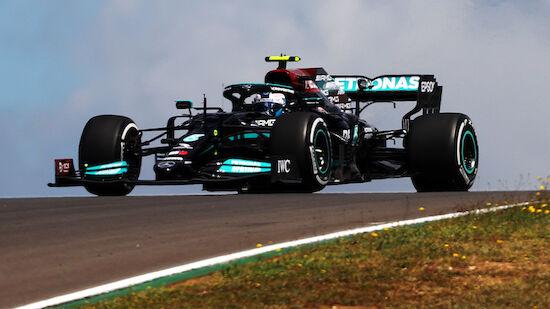 Hauchdünn! Bottas verhindert 100. Hamilton-Pole