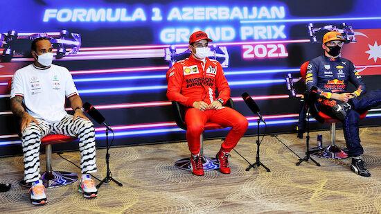 Leclerc, Hamilton, Verstappen: Wer siegt in Baku?