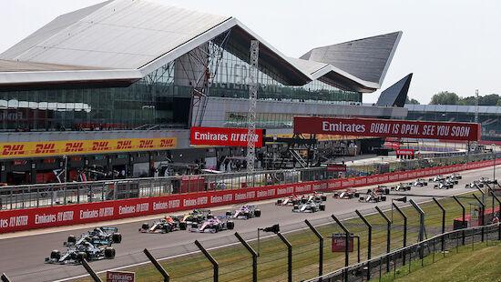 Zeitplan: GP von Großbritannien - mit Sprintrennen