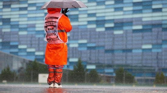 Starkregen in Sotschi verhindert 3. F1-Training