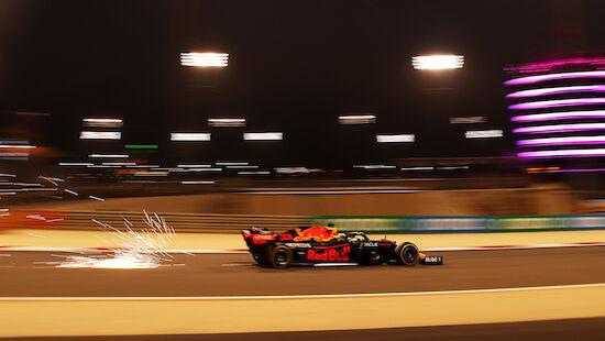 Verstappen in Bahrain-Trainings der Schnellste