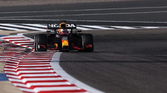 Verstappen dominiert in Bahrain