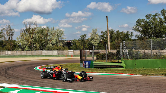 Verstappen dominiert 3. Training in Imola