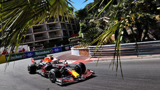 Verstappen hält Ferraris hinter sich