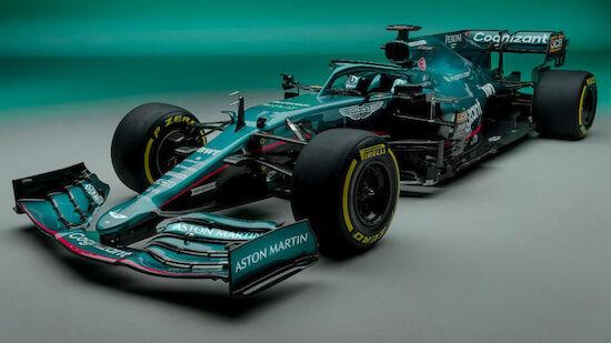 Aston Martin stellt Vettels neues Arbeitsgerät vor