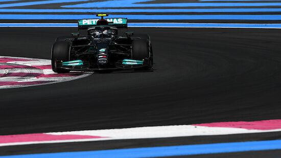 Mercedes zum Frankreich-Auftakt stark