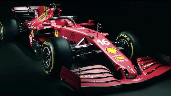 Neuer Ferrari für 2021: Rot - und grün
