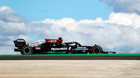 Erste Trainingsbestzeit der Saison für Hamilton