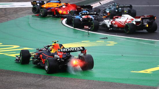 Chaotischer Start zum Grand Prix von Ungarn
