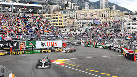 Grand Prix von Monaco vor 7.500 Zuschauern
