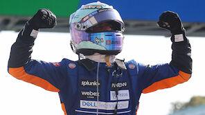Ricciardo vor Norris: McLaren-Sensation in Monza!